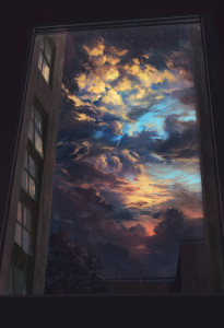 Sky Thru Window