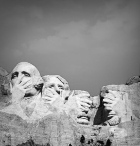 Mount Rushmore Embarassed