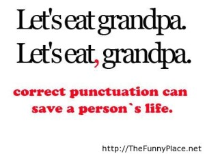 A - humor punctuation