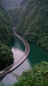 Pontoon Bridge in China 7:30:19